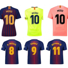 Barcelona Soccer Jerseys Messi Football Shirts