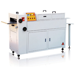Small UV Varnishing Glazing Machine