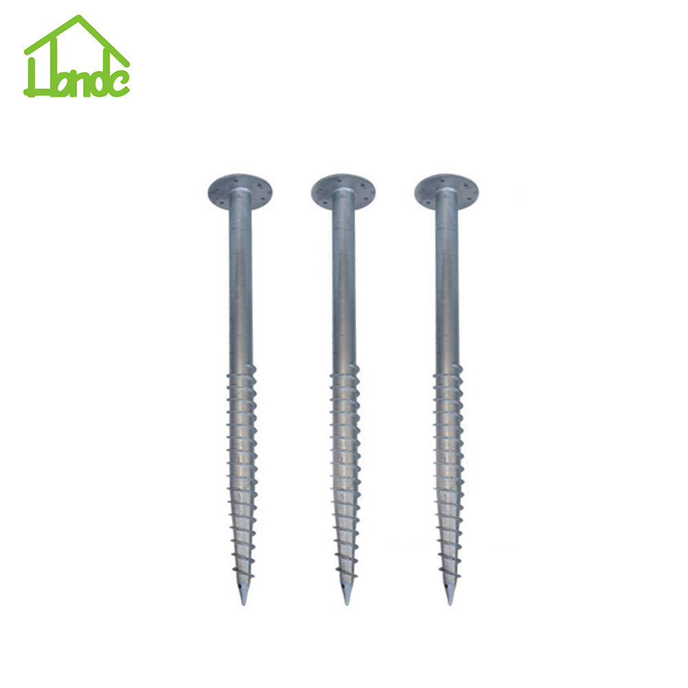 Solar Ground screw for solar ground mounting system