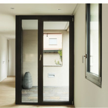 Lingyin Construction Materials Ltd aluminium  double glass casement door  aluminum window