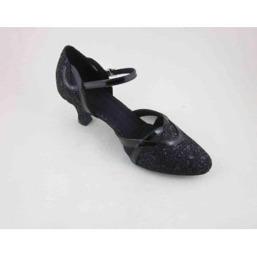 Black ladies dance shoes UK