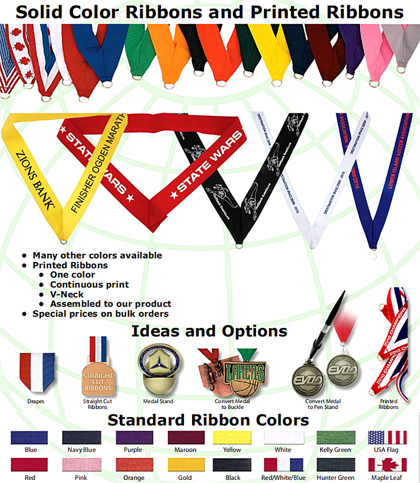 Custom Medal Ribbon