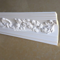 Modern Polyurethane Curved Carving Ceiling Cornice Moulding