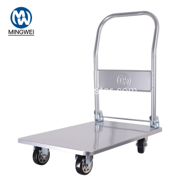 Flatbed Platform Trolley Heavy Duty Folding Trolley