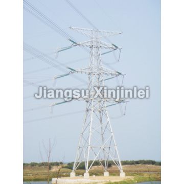Lowest Price for Steel Tubular Tower 220kV Transmission Line Steel Tower supply to Croatia (local name: Hrvatska) Supplier