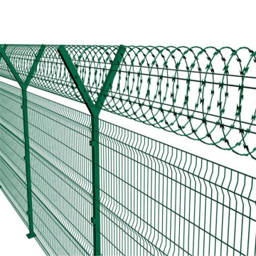 3d  curvy welded wire mesh fence