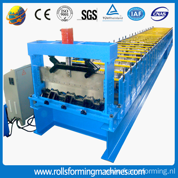 Metal Floor Deck Sheet Panel Roll Forming Machine