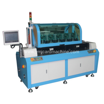 Five Stations Full Auto SIM Card Punching Equipment