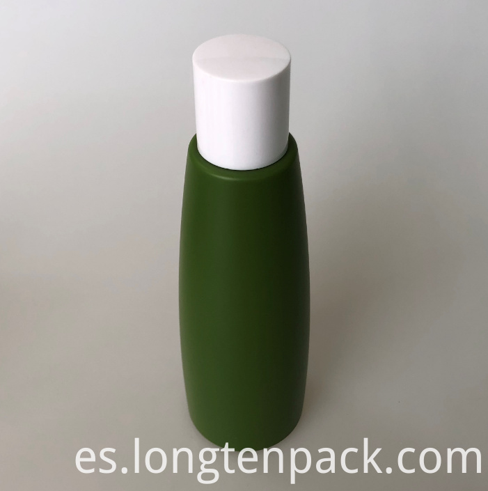 LTP8023 PETG cone bottle with screw cap