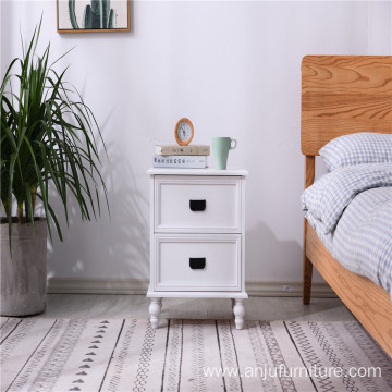 Cheap modern bedroom furniture wooden cabinets multi-drawer wooden bedside table
