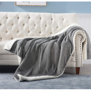 Soft Thick Double Layer Sherpa Fleece Blanket