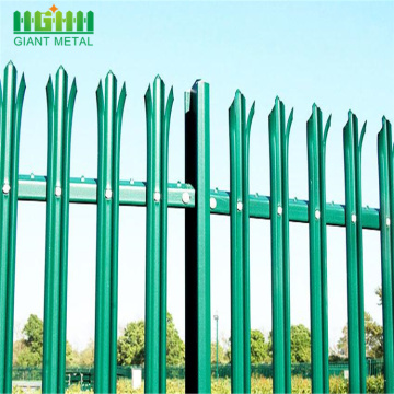 W and D type steel euro panel fence
