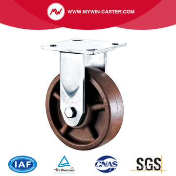 5'' Heavy Duty Plate Rigid High Temperature Caster