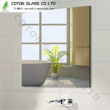 Full Length Frameless Mirror