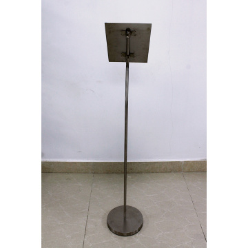 metal round floor standing displays stand