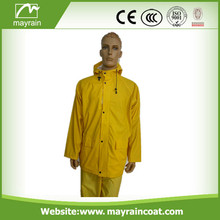 High Quality Yellow PU Jacket