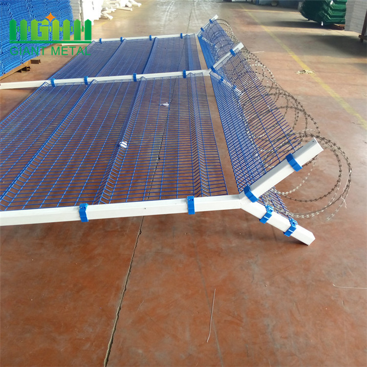 hot dipped galvanized prison security airport fencing