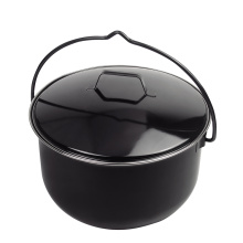 Dutch Oven/bbq grill of preseasoned outdoor camping cast