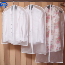 Custom thick transparent clothes to dust collection bag