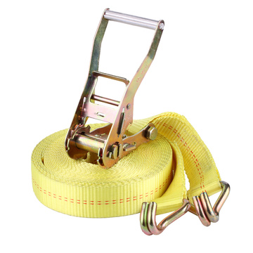 "2""RATCHET LASHING STRAP  5T  YELLOW"