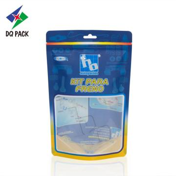 Flexible plastic packaging bag for tools