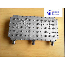 Aluminum Microwave Communication System Passive Diplexer