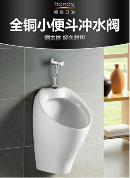 Push Button Urinal Flush Valve