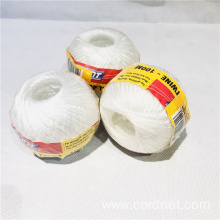 White PP Splitfilm Twisted Twine With Competitive Price