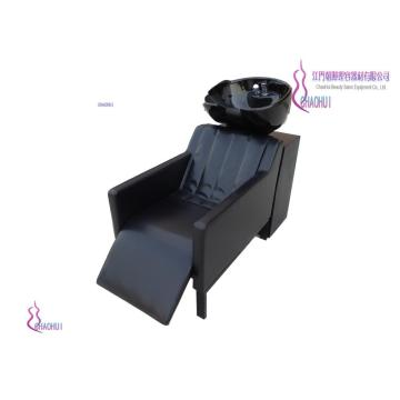 Adjustable pedal shampoo chair