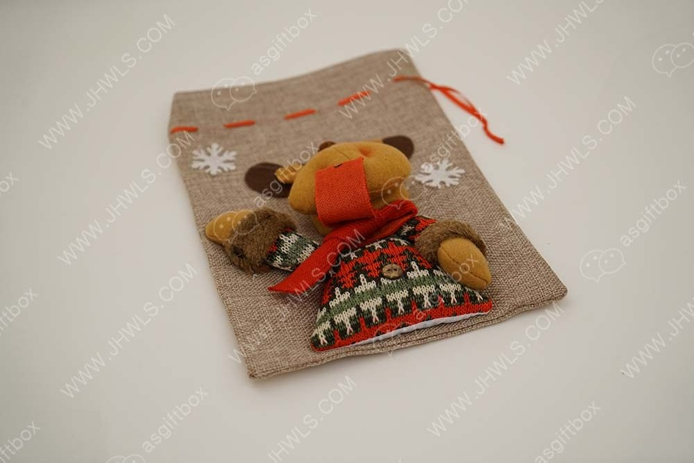 Puppet decorative cloth bag