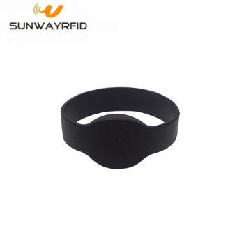 LF 125khz Silicone RFID Fitness Wristband for swimming pool