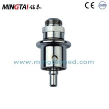 Medical gas fitting plug