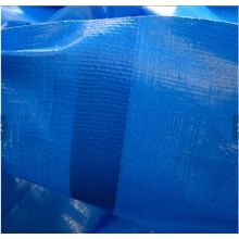 Blue PE tarpaulin sheet with welding