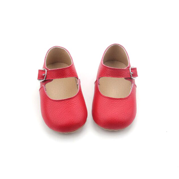 Soft Leather Baby Formal Girls Mary Jane Shoes