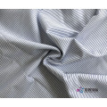Pinstripe Polyester Blend Plain Fabric