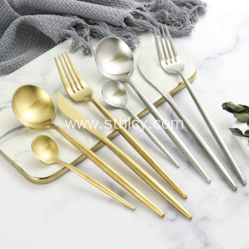 Stainless Steel Nordic Style Knife Fork Spoon Set