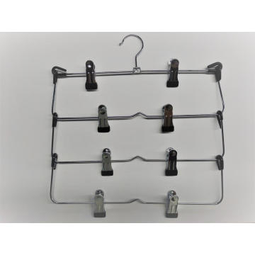 EISHO Multilayer  Metal Hanger With Clips