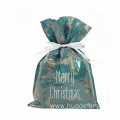 Green Laminated CPP Christmas Gift Bag For You