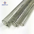 PVC reinforced flexible spring steel wire hose