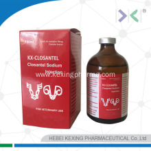 Good Quality for Closantel Sodium Powder Animal Closantel Sodium Injection export to Vietnam Factories