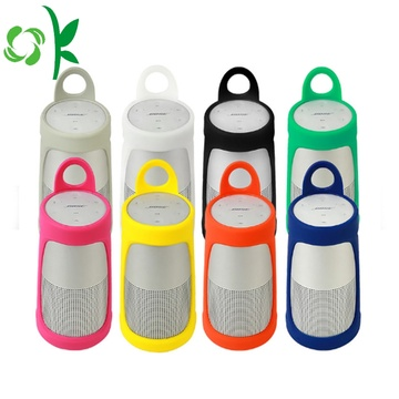 Customized Soft-touch Silicone Bluetooth Speaker Case
