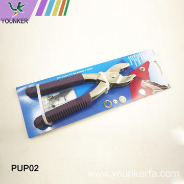 Belt Puncher Leather Paper Revolving Punch Pliers