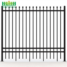 Picket Decorative Metal Used Wrought Iron Fence Panels