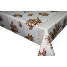 Pvc Printed fitted table covers Table Linens Edmonton