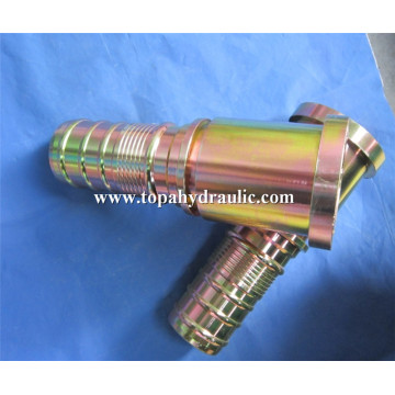 Braided air line high pressure brass hose fittings