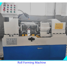 Hydraulic thread rolling machine for stud bolts