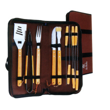13pcs stainless steel bbq tool set