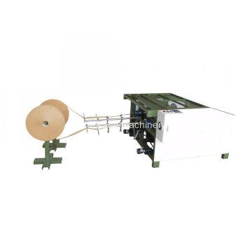 twin head twisted paper rope making machine