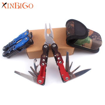 Creative Gradient Metal Multi-function Folding Pliers
