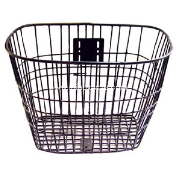 Wire Bike Basket with Clip-on Bracket